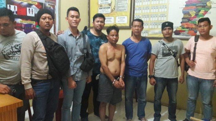 Satreskrim Polresta Deliserdang berhasil mengamankan pelaku pembunuhan bocah, Jumat (22/11/2019) malam.