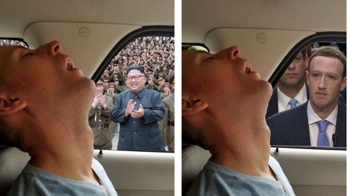 Pria Ini Jadi Sasaran Keisengan Sang Pacar karena Tertidur di Mobil, Foto-fotonya Diedit Jadi Kocak!