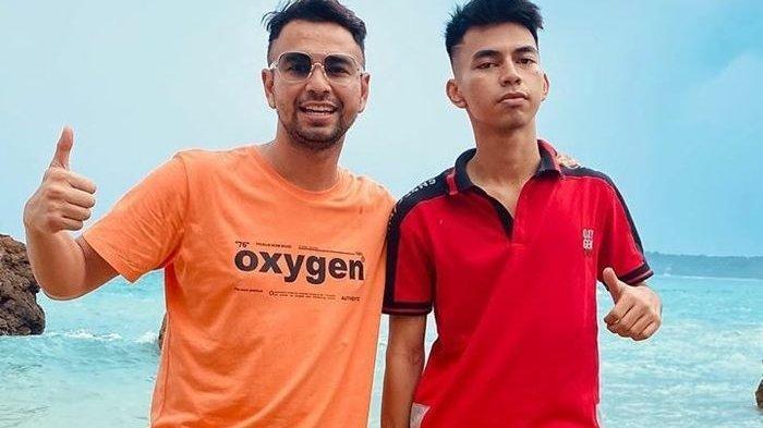 Raffi Ahmad dan Dimas Ramadhan