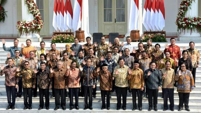 TERUNGKAP Gaji Pokok dan Tunjangan Menteri Kabinet Indonesia Maju, Lebih Kecil dari DPR?