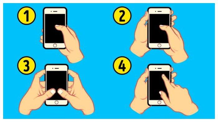 Tes Kepribadian: Caramu Memegang Ponsel Dapat Ungkap Sifat Aslimu yang Tak Terduga