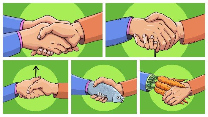 Tes Kepribadian: Cara Berjabat Tangan Dapat Mengungkapkan Sisi Lainmu yang Tersembunyi.