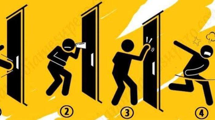 Tes Kepribadian - Yang Kamu Lakukan saat Ada Pintu Misterius yang Tertutup dapat Ungkap Karaktermu