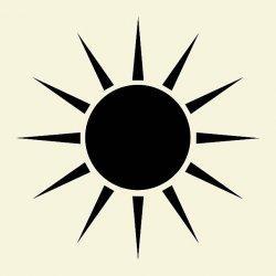 tes kepribadian bentuk matahari.