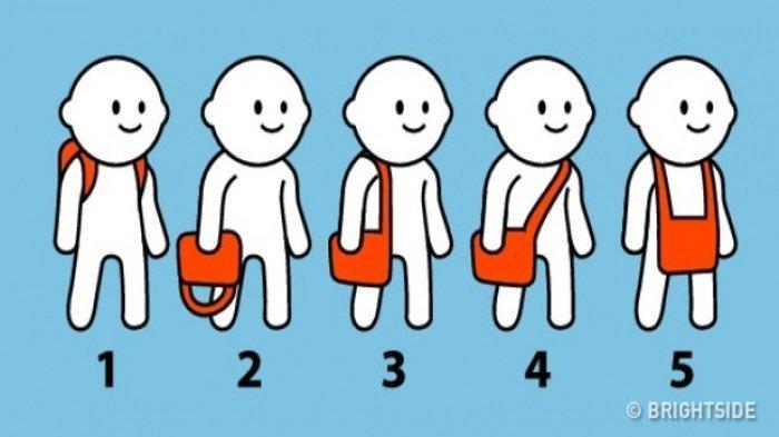 TES KEPRIBADIAN - Cara Favoritmu Membawa Tas Bisa Ungkap Karaktermu yang Sebenarnya