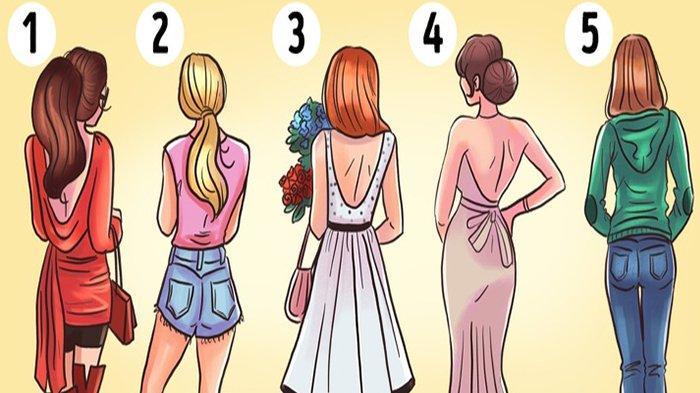 Tes Kepribadian: Gadis Mana yang Paling Menarik Saat Mereka Berbalik? Pilihanmu Ungkap Kepribadianmu