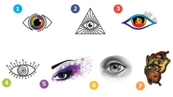 Tes kepribadian - Gambar mata yang kamu pilih dapat mengungkap sesuatu yang istimewa dalam dirimu.