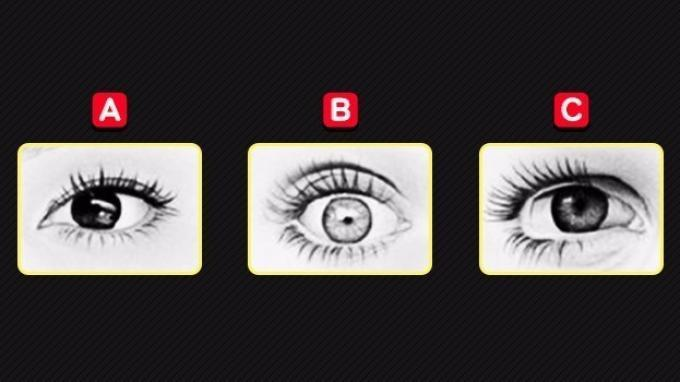 Tes kepribadian - Mata mana yang menunjukkan kemarahan? Pilihanmu dapat mengungkap sifat aslimu sebenarnya.