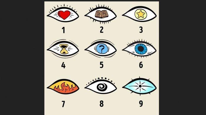 TES KEPRIBADIAN - Pilih Mata yang Paling Menarik, Jawabanmu akan Ungkapkan Sisi Tersembunyi Dirimu