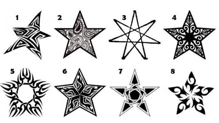tes kepribadian: memilih bintang