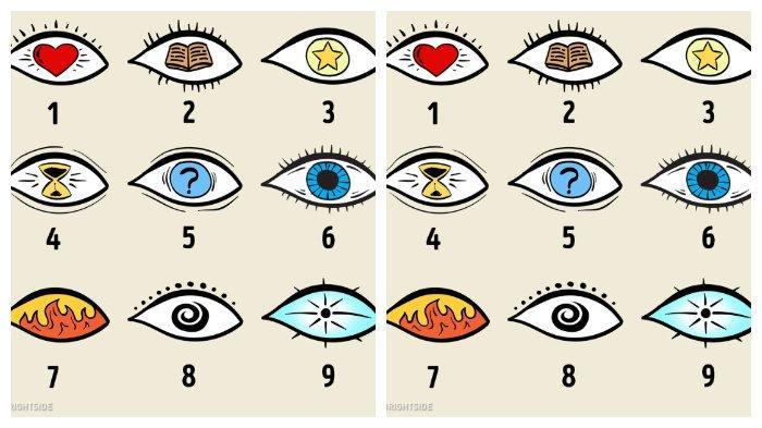 Tes Kepribadian: Memilih Gambar Mata Dapat Mengungkap Rahasia Tersembunyimu.(brightside.me)