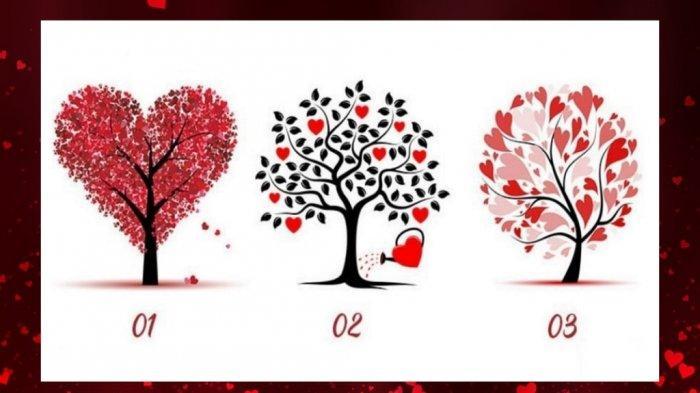 TES KEPRIBADIAN - Pilih Satu Pohon Cinta Paling Menarik untuk Cari Tahu Pria yang Cocok Denganmu