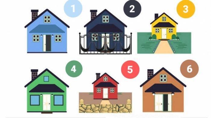 TES KEPRIBADIAN - Pilih Satu Rumah untuk Ungkap Banyak Hal Tentang Dirimu