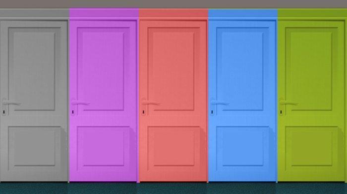 Tes kepribadian - Pintu warna apa yang kamu pilih? Ungkap kelebihanmu dan sifat istimewa dalam dirimu.