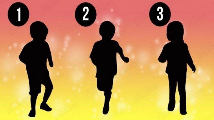 TES KEPRIBADIAN - Mana Siluet yang Merupakan Anak Perempuan? Pilihanmu Ungkap Karakter Aslimu