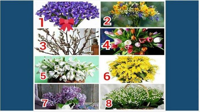 Tes Kepribadian: Pilih 1 Gambar Bunga, Hasilnya Ungkap Sosok Pria yang Dibutuhkan agar Bahagia