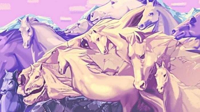 Tes Kepribadian - Jumlah Kuda yang Kamu Lihat dalam Foto Ini Ungkap Banyak Hal tentang Dirimu