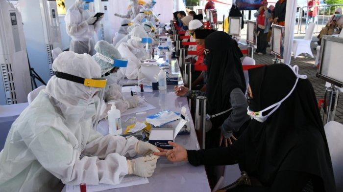 Sasar Zona Merah, BIN Gelar Rapid dan Swab Test Massal di Tangerang