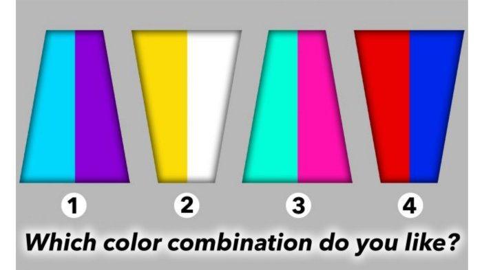 Tes Psikologi: Kombinasi Warna yang Kamu Pilih Bisa Ungkap Kepribadianmu Sesungguhnya