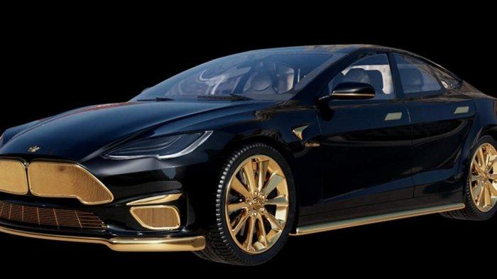 Berlapis Emas, Ini Dia Tesla Model S Excellence 24 K yang Jadi Model Termahal di Dunia