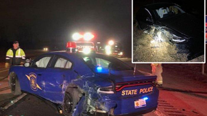 Fitur di Tesla Jadi Penyebab Kecelakaan Fatal di AS, Hajar Mobil Patroli Polisi yang Lagi Parkir