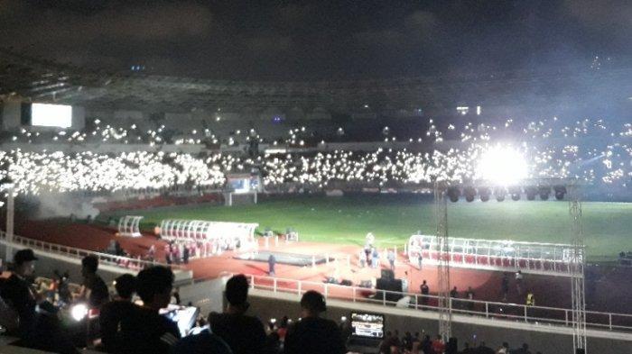 The Jakmania Antusias Saksikan Launching Persija Jakarta