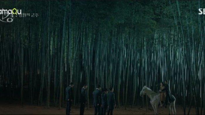 Lee Gon membawa Tae Eul ke Kerajaan Corea