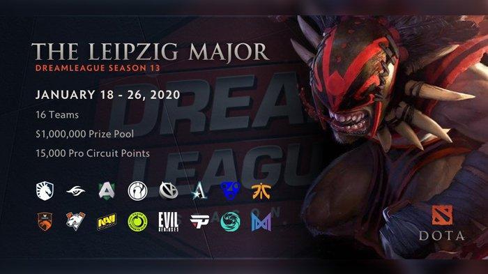 DreamLeague Season 13: The Leipzig Major Digelar Hari Ini, Turnamen Mayor Dota 2 Awal Tahun 2020