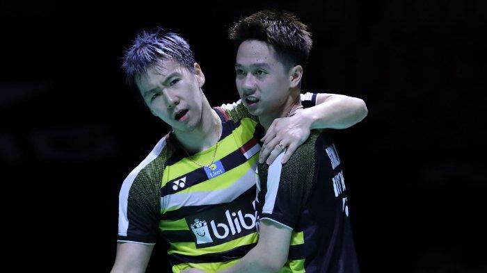 Link live score Marcus Feraldi Gideon/Kevin Sanjaya Sukamuljo Hong Kong Open 2018, pertandingan dimulai malam nanti pukul 19.00 WIB.