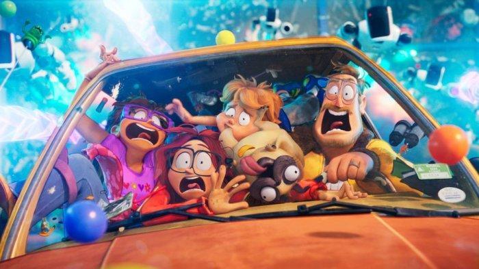 Serunya Petualangan Keluarga Selamatkan Dunia, Animasi The Mitchells vs The Machines Segera Tayang