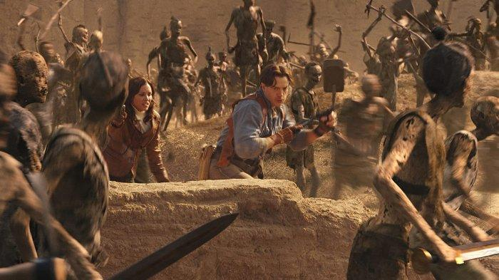 Sinopsis The Mummy Tomb Of The Dragon Emperor Tayang Di Gtv Selasa 19 Mei 2020 Pukul 22 00 Wib Tribunnews Com Mobile