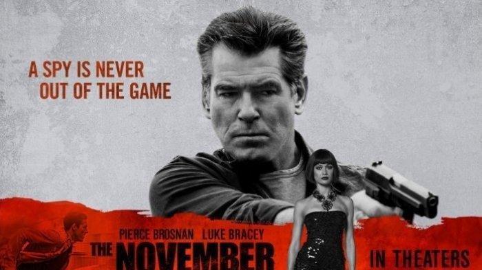 Sinopsis The November Man: Aksi Pierce Brosnan Jadi Agen CIA, Malam Ini di Trans TV Pukul 21.30 WIB