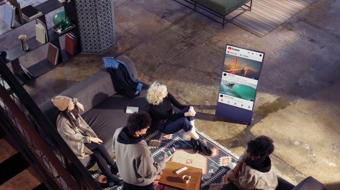The Sero, TV Layar Rotasi Pertama di Dunia dari Samsung, Ini Tantangan di Proses Penciptaannya