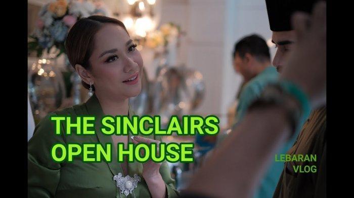 Video The Sinclairs Open House Ditonton Jutaan Kali, Lebaran Terakhir BCL bersama Ashraf Sinclair