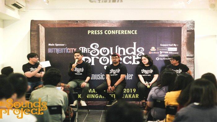 """The Sounds Project Vol. 4 """"Festival dari Generasi Muda, dan untuk Generasi Muda"""""""