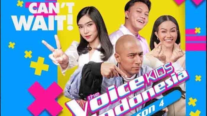 Rizky Febian hingga Isyana Mencari Penyanyi Berbakat di The Voice Kids Indonesia Season 4