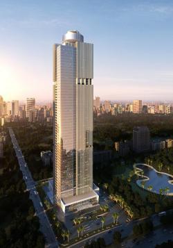 Hotel Tertinggi Di Indonesia Ini Bakal Dibuka Agustus Mendatang Tribunnews Com Mobile
