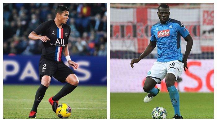 Thiago Silva Buka Peluang Kembali ke AC Milan, Kalidou Koulibaly jadi Opsi Pengganti