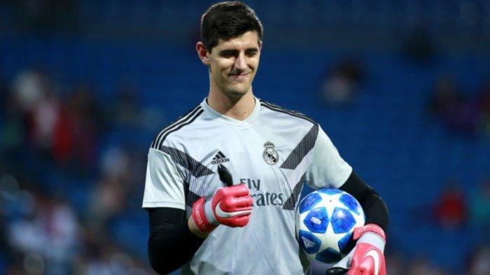 Thibaut Courtois Ukir Penampilan ke-100 Bersama Real Madrid Saat Menang 4-1 atas Alaves