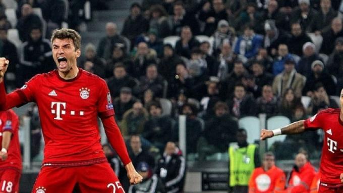Juventus vs Bayern Muenchen: Babak Pertama Muenchen Unggul 1-0