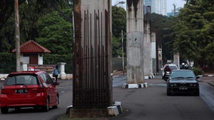 DPRD DKI Minta Pemprov Segera Bongkar Tiang Monorel Mangkrak di Kawasan Senayan dan Rasuna Said