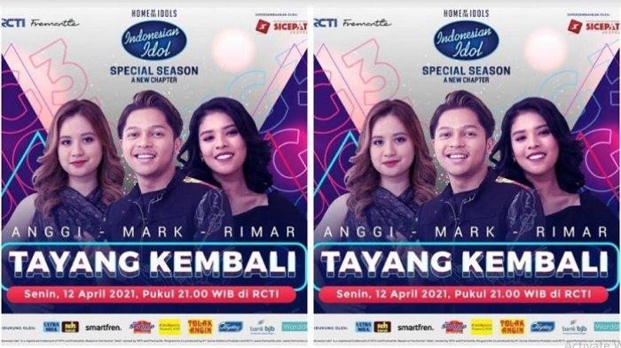 Tiga Besar Indonesian Idol Spesial Season Malam Ini, Mereka Siap Berebut Tiket Grand Final