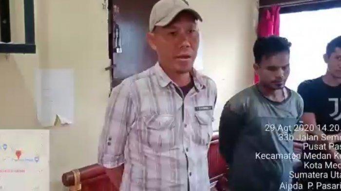 Aksi Pemalakan Tiga Pria di Medan Terekam Kamera, Viral Lalu Ditangkap Polisi, Duh Malunya