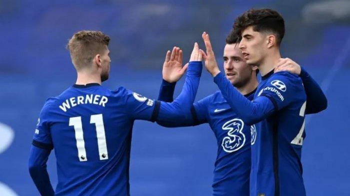 Jelang Chelsea vs Real Madrid Liga Champions: Mendy Bicara Kualitas Duet Havertz-Werner