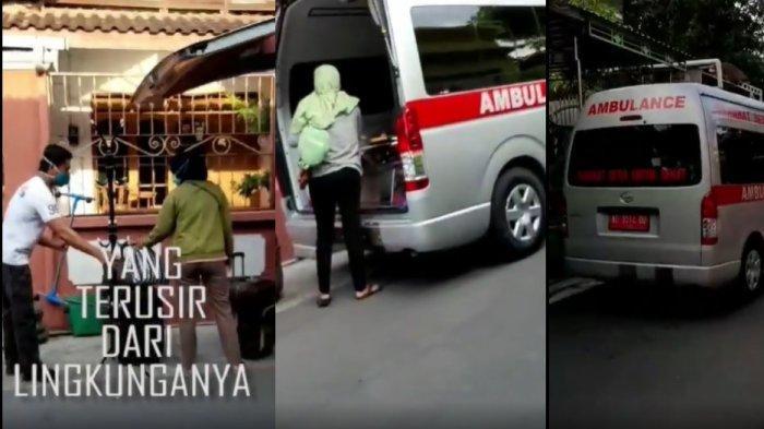 Kolase pengusiran tiga perawat RSUD Bung Karno Solo dari indekos mereka di kawasan Grogol Sukoharjo, Jumat (24/4/2020).