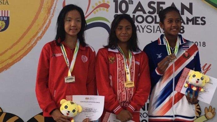 Tiga Perenang Olimpiade Remaja Sumbang Emas di Hari Ketiga Asean Schools Games 2018 Selangor