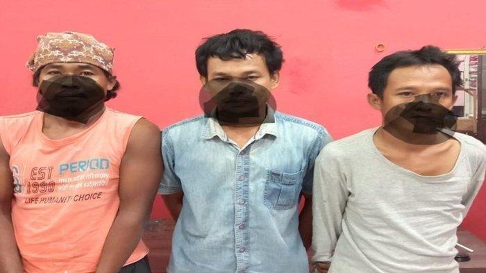 Tiga Sahabat di OKU Ini Tak Berkutik Sedang Teler Sabu Saat Digerebek Polisi