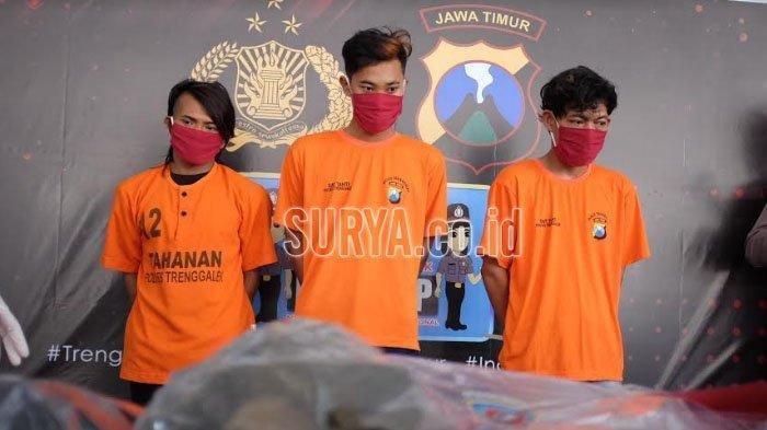 Sekelompok Remaja Mabuk Rusak Warung Kopi dan Aniaya Seorang Pemuda di Trenggalek