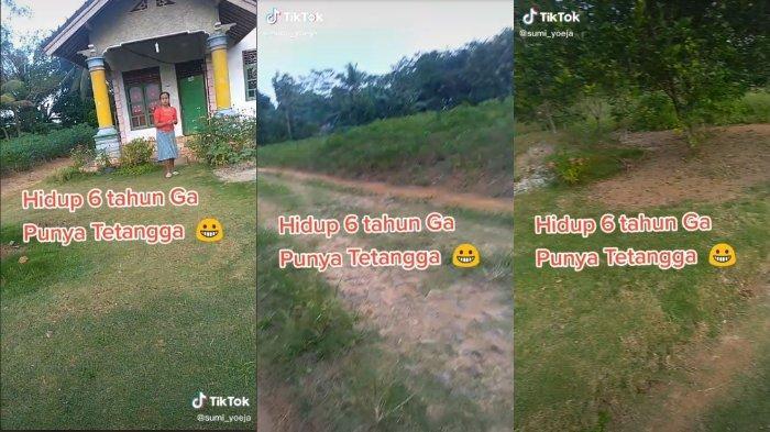 VIRAL TikTok Wanita Ceritakan Bagaimana Rasanya Tinggal di Rumah Tanpa Tetangga: Sunyi Tenteram