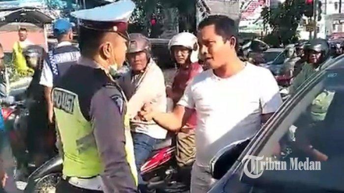 HT Dirampas Saat Menilang Pengendara, Polisi Ini Lapor ke Polsek Medan Timur